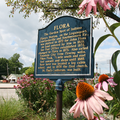 Flora, Indiana historical marker.png