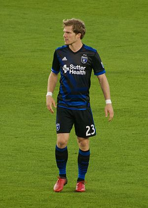 Florian Jungwirth - Jungwirth playing for San Jose Earthquakes