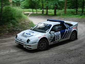 World Rally Championship - Group B Ford RS200.