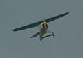 Fokker D.VIII Lt See Gotthard Sachsenberg Flyby two 01 ThruDirtyWindow Dawn Patrol NMUSAF 26Sept09 (14597973674).jpg