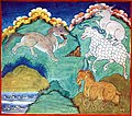 Folk Tales from Tibet - The Hare conversing with the wolf.jpg