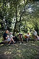 Folk musicians at Copsale Hall, Nuthurst, West Sussex, England 05.jpg