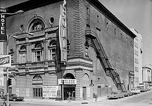 Joan Dillon (historic preservation activist) - Image: Folly Theater burlesk