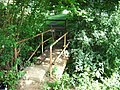 Footbridge into Fairlawne Park Land - geograph.org.uk - 1399503.jpg