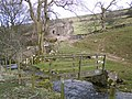 Footbridge near Potts - geograph.org.uk - 749172.jpg