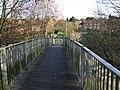 Footbridge off Turners Road North - geograph.org.uk - 1598502.jpg