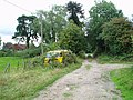 Footpath from railway cutting to Turner's Hill Road - geograph.org.uk - 226156.jpg