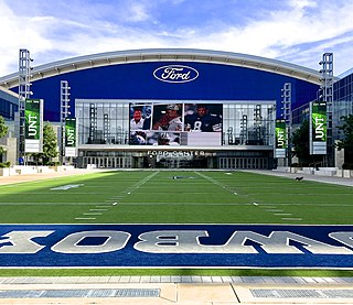 Ford Center at The Star Indoor stadium at the Dallas Cowboys headquarters