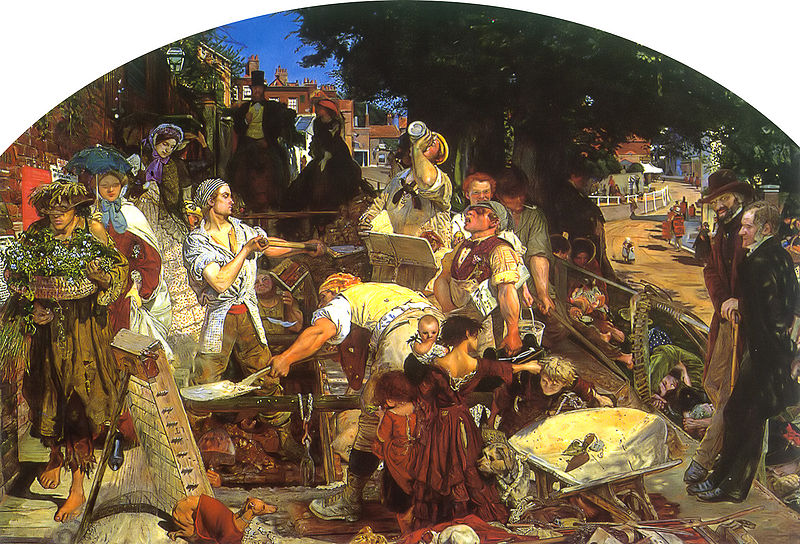 Ford Madox Brown, Work