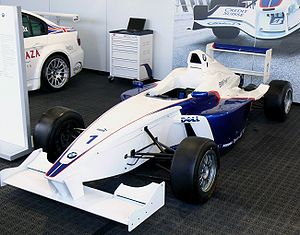 Formula BMW - The Formula BMW FB02, built by Mygale