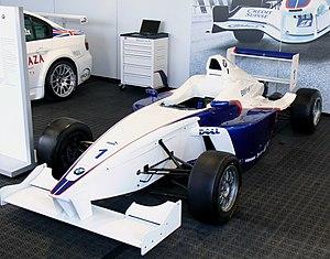 Formula BMW - The Formula BMW FB02, built by Mygale