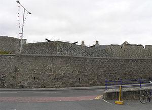 Fort Charlotte, Shetland - Fort Charlotte, Lerwick, Shetland, Scotland - from Commercial Street