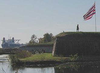 National Register of Historic Places listings in Southwest Philadelphia - Image: Fort Mifflin 01