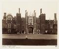 Fotografi av Hampton Court. London, England - Hallwylska museet - 106681.tif