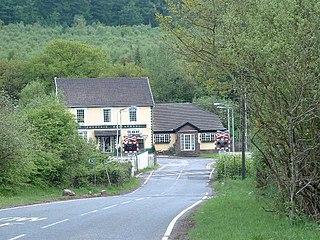 Aberkenfig Human settlement in Wales