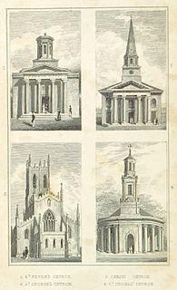 St Peters Church, Dale End Church in Birmingham, England