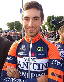 Photo of Vincenzo Nibali  & his  Brother  Antonio Nibali
