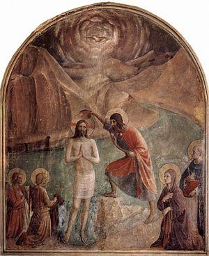 Divine filiation - Fra Angelico's Baptism of Christ