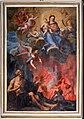 Fra Felice da Sambuca, Madonna con Bambino, santi e anime del purgatorio, xviii secolo.jpg