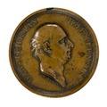 Framsida av medalj med Daniel Fehrman i profil, 1783 - Skoklosters slott - 99280.tif