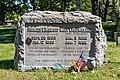 Frances E. Willard-Mary Thompson Hill Willard Memorial Rosehill Cemetery Chicago 2020.jpg