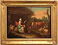 Francesco londonio, vecchia contadina filatrice accanto al bestiame, 1775 circa.JPG