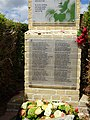 Francis Ledwidge memorial near Artillery Wood Military Cemetery 03.jpg