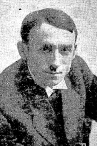 Frank Calvert (cartoonist) - Portrait of Frank Calvert c. 1920, from the Seattle Daily Times, July 1, 1920, page 14.