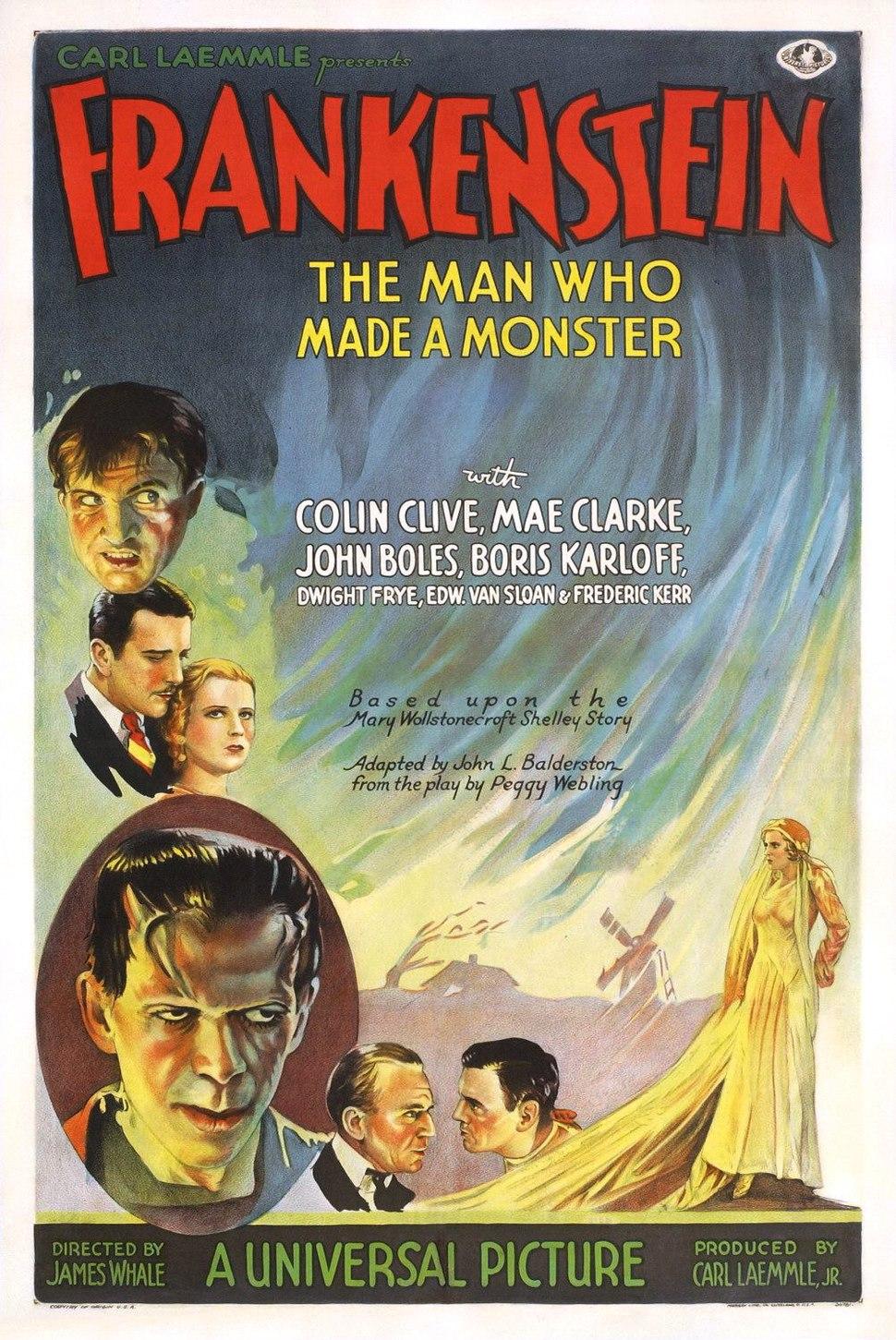 Frankenstein poster 1931