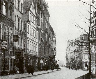 Freßgass - Image: Frankfurt Freßgass