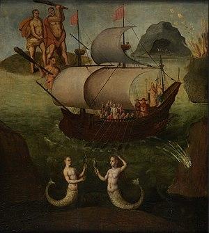 Frans Francken the Elder - Allegory, the Ship of State