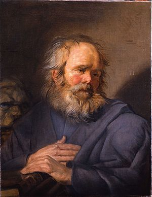 St. Mark, by Frans Hals