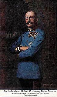 Archduke Franz Salvator of Austria Austrian archduke