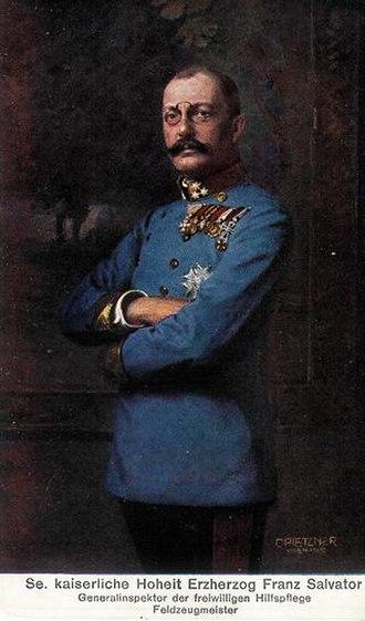 Archduke Franz Salvator of Austria - Image: Franz Salvator Austria 1866 1939