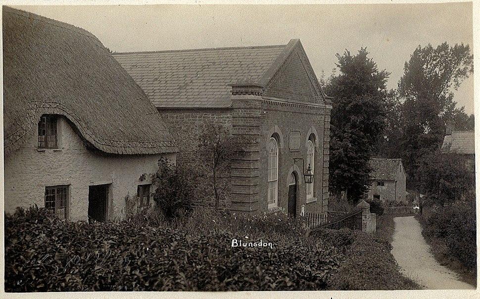 Fred C Palmer Chapel Hill Blunsdon 1920