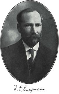 Frederick Chapman (palaeontologist) Australian paleontologist