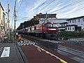 Freight train on Kagoshima Main Line near Kyushu Sangyo University.jpg