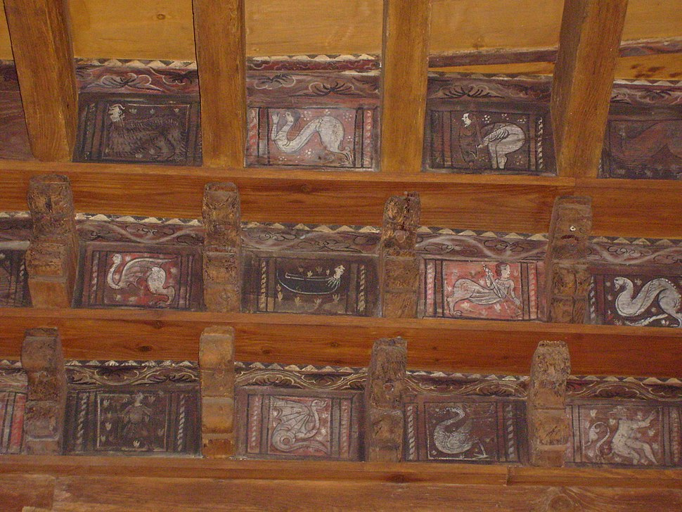 Frejus Cathedral Cloister Ceiling