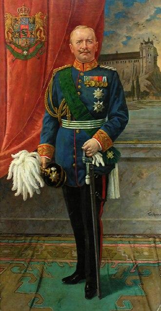 Frederick Augustus III of Saxony - Image: Friedrich August III von Sachsen in Paradeuniform