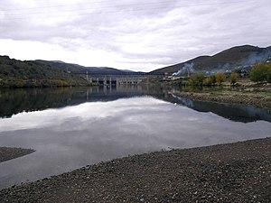 Pocinho Dam - Image: Frieiras, Pocinho panoramio