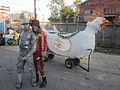 Fringe Parade NOLA 2012 Bo Kristin Chicken.JPG
