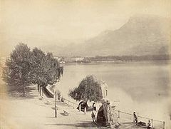Frith, Francis (1822-1898) - n. 177 - Lake of Lugano from the Hotel du parc.jpg