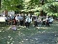 Frodsham Silver Band in Castle Park, Frodsham - geograph.org.uk - 206232.jpg