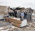 From front left, U.S. Army Gen. Frank J. Grass, the chief of the National Guard Bureau; Oklahoma Gov. Mary Fallin; and Maj. Gen. Myles Deering, the adjutant general of Oklahoma, tour the ruins of Plaza Towers 130528-Z-VF620-599.jpg