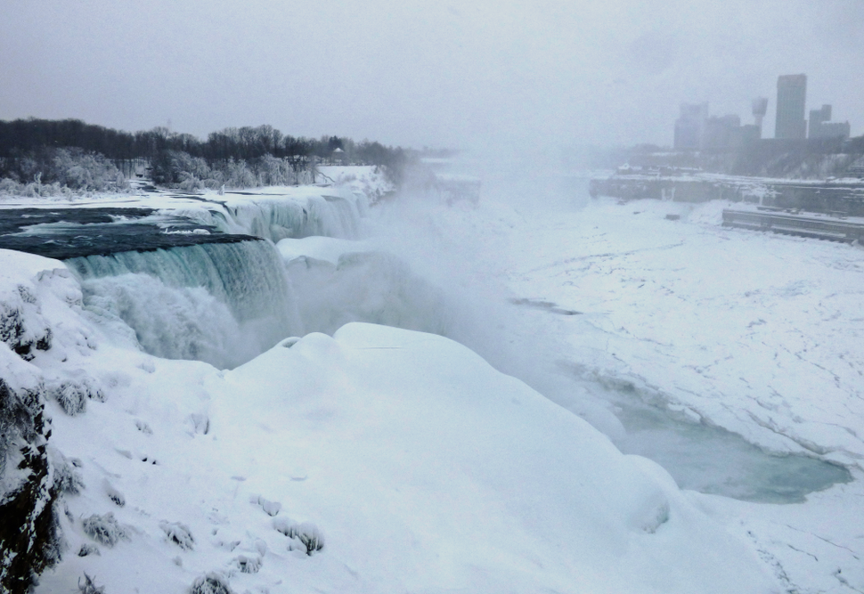 Frozen Niagara Falls 2 15 2015