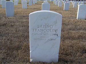 Fort Sam Houston National Cemetery - Italian POW marker