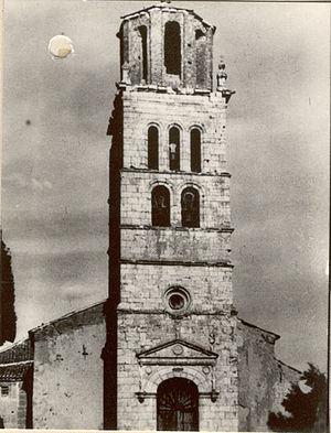 Barcial de la Loma - Image: Fundación Joaquín Díaz Iglesia de San Pelayo. Torre Barcial de la Loma (Valladolid)
