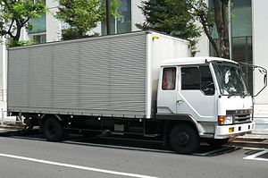 Mitsubishi Fuso Fighter - 1st gen Fuso Fighter
