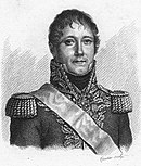 Portrait of Marchand in 1800-era military uniform