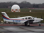 G-GEHP Piper 28 Arrow (23121472794).jpg